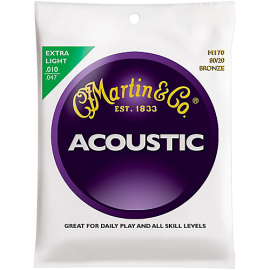 Martin M170 80/20 Bronze Extra Light Acoustic