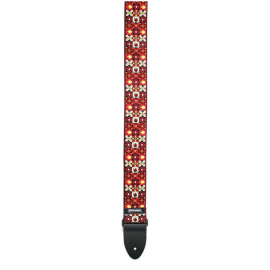 D67-01RD Strap Jacquard Winterland Red