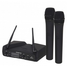WM202DM UHF Diversity Dual-channel Wireless Microphone System